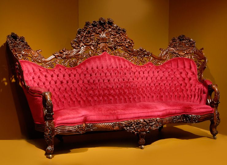 Sofa Ca 1850 Attributed To John Henry Belter American