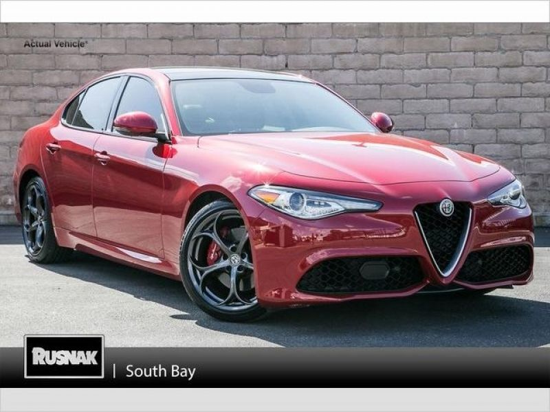 Used Alfa Romeo Giulia For Sale In Santa Monica Ca Edmunds Pertaining To Alfa Romeo Santa Monica Motor Car Car Pictures Alfa Romeo Giulia
