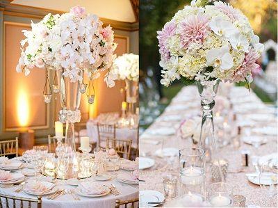 centros de mesa altos boda buscar con google
