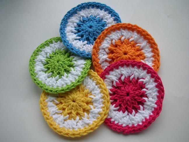 Whiskers & Wool: Scrubbie Dots Crochet Pattern - FREE ...