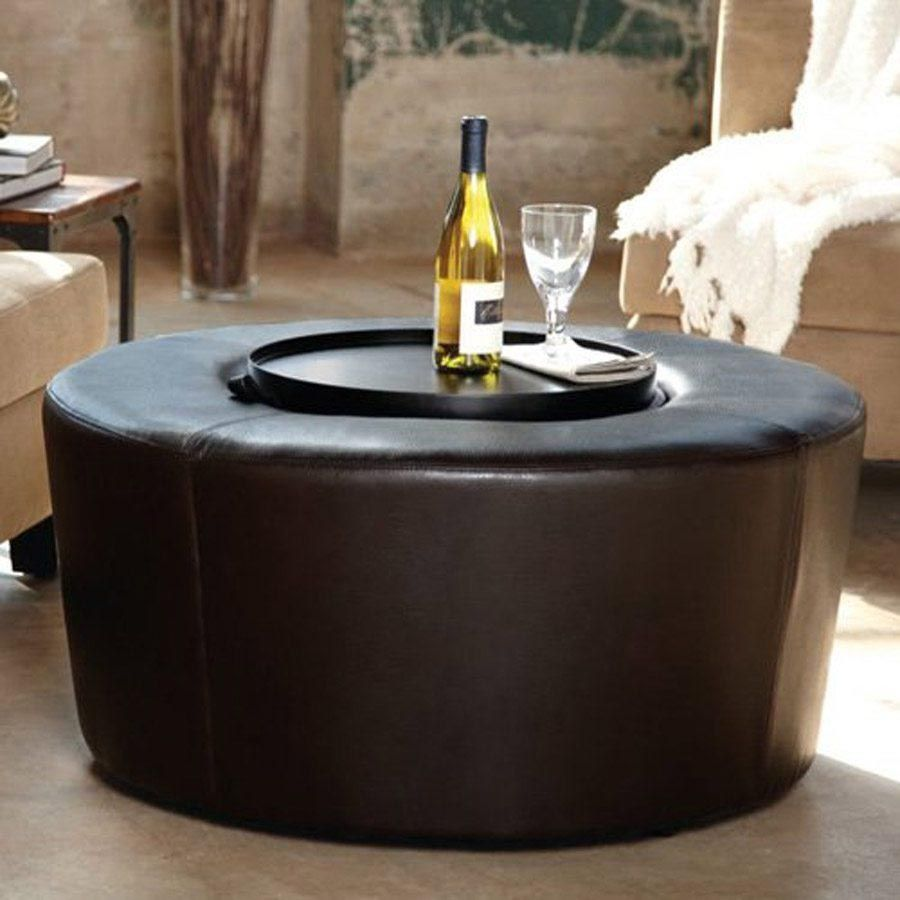 Ottoman Coffee Table Round Coffee Table Design Ideas Leather Coffee Table Round Black Coffee Table Round Ottoman Coffee Table [ 900 x 900 Pixel ]