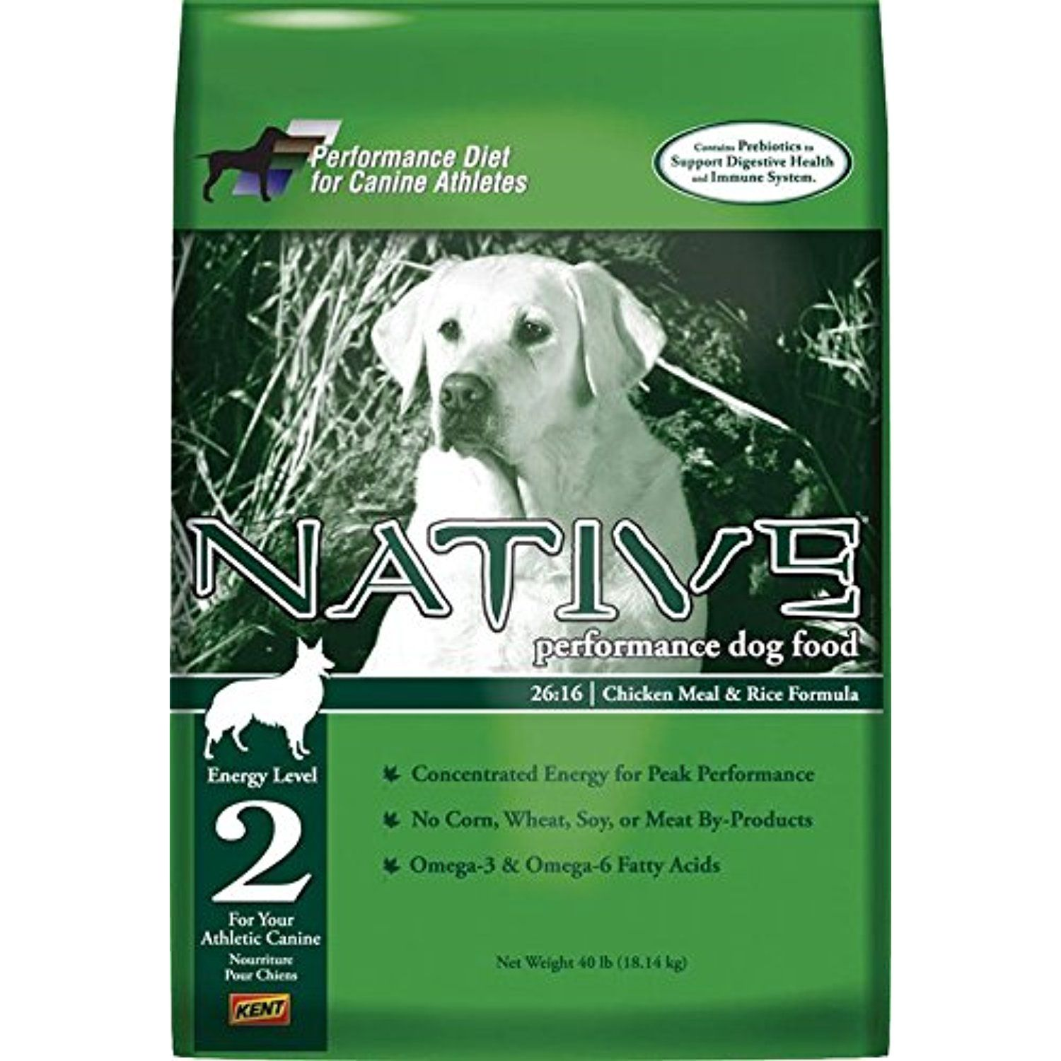 Native Performance Dog Food Level 2 2616 Chicken Meal and