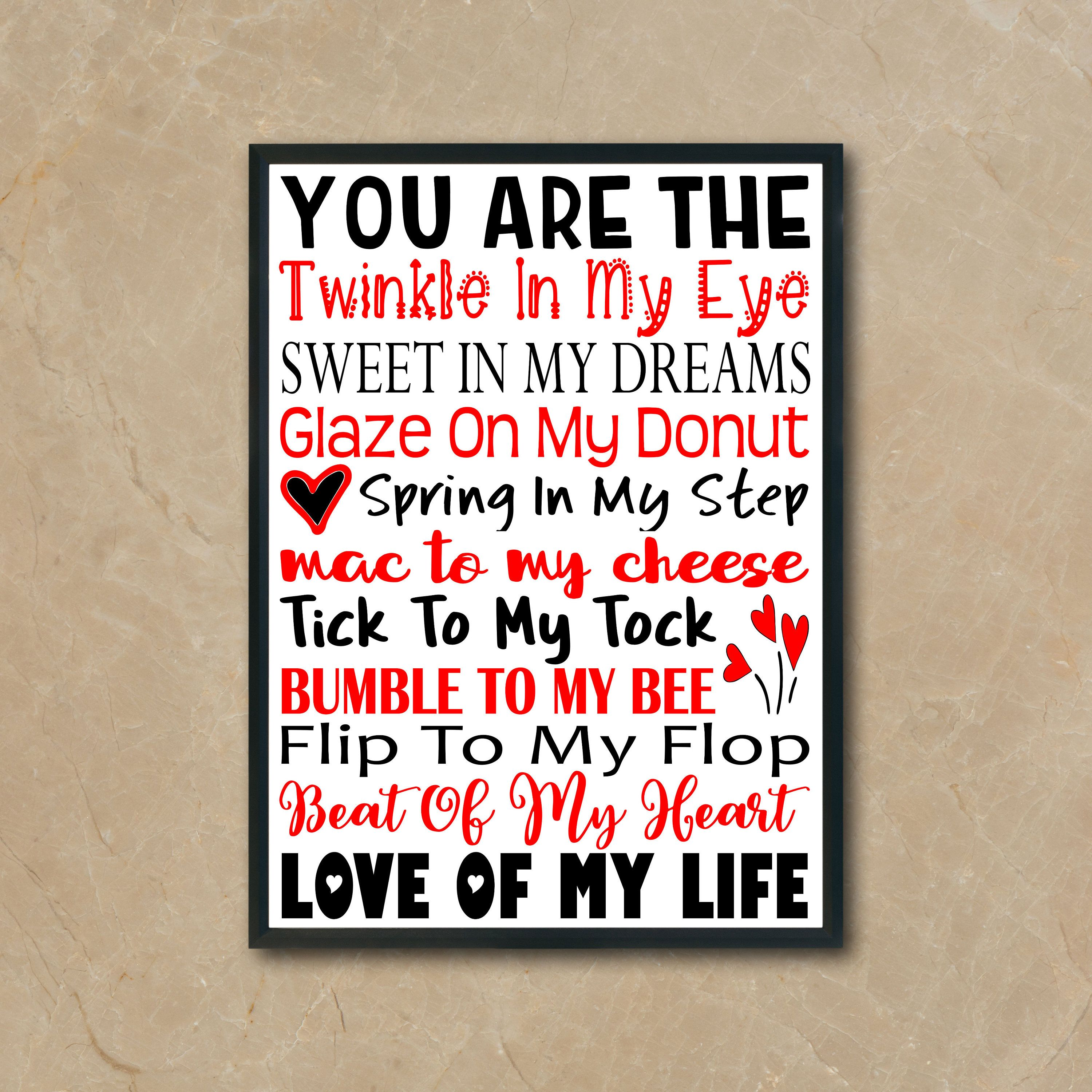 Valentine S Day Printable Love Of My Life Png Jpeg