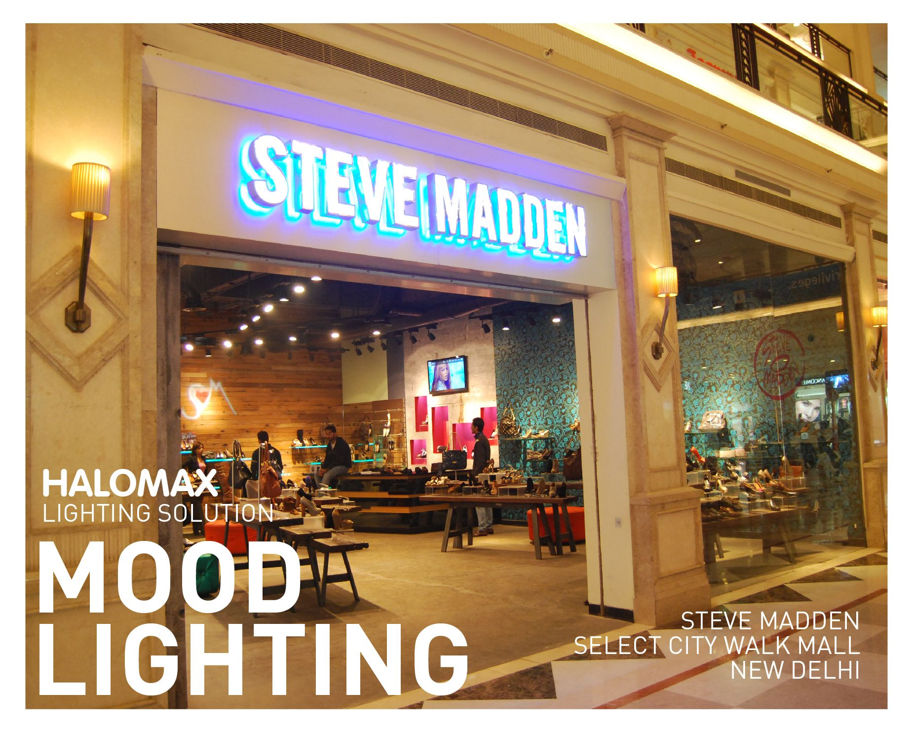 Successful retail lighting at steve madden store select city walk successful retail lighting at steve madden store select city walk new delhi by arubaitofo Choice Image