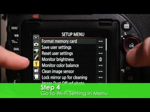 Nikon D750 Wi-Fi Photo Transfer Tutorial - How to Transfer