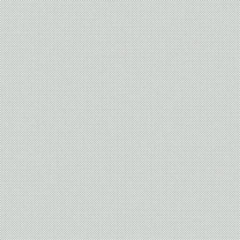 잔잔하고 촘촘한 격자형의 바닥 위에 가로세로의 무늬로 은은한 펄감이 드러나는 연한 블루그레이 벽지