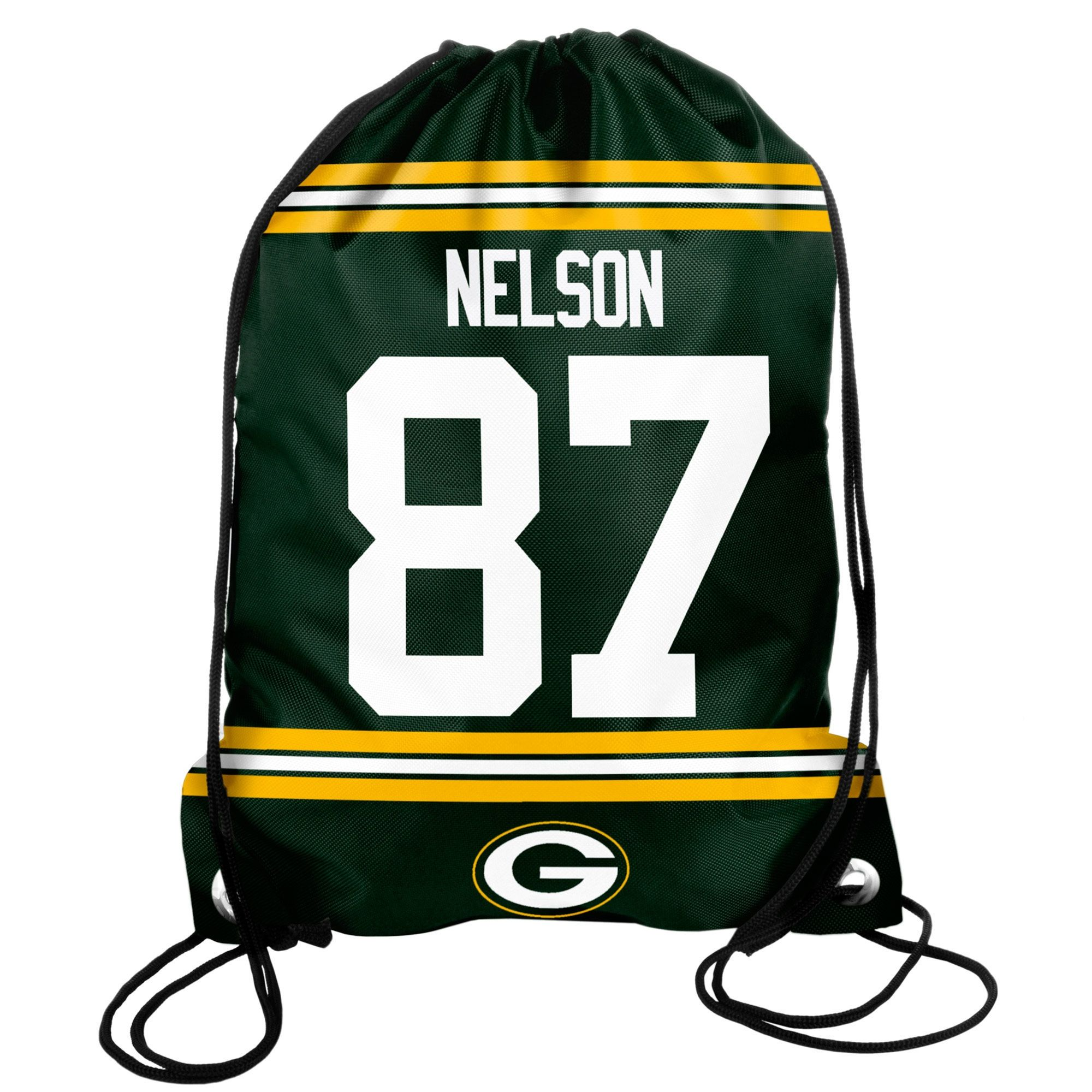 Jordy Nelson Green Bay Packers Player Elite Drawstring Backpack