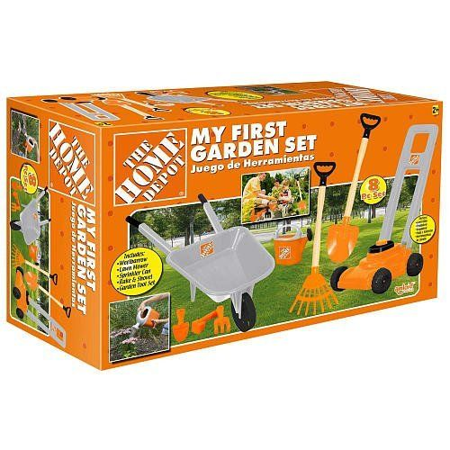 The Home Depot My First Garden Set Garden Set Garden Tools The