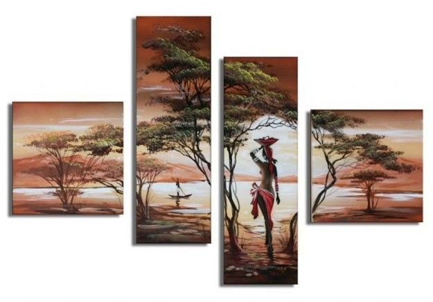 Decorate your home or office with this creative Landscape oil painting. For more information related to sizes and dimensions, please feel free to contact us.
