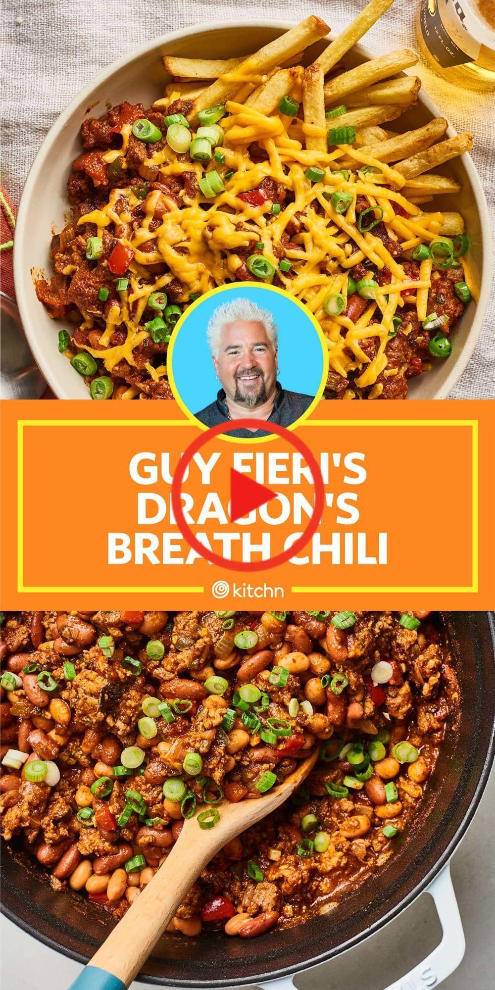Guy Fieri S Spicy Chili Recipe Packs A Serious Punch Spicy Chili Recipe Chili Recipes Homemade Chili Recipe