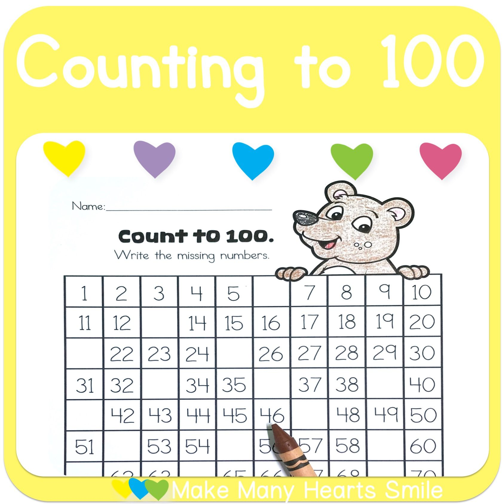 Count To 100 With Bear Mhs38