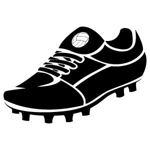Generally Soccer Cleats Are Usually Narrower Than Other Types Of Athletic Shoes And This Supports Greater Contro Soccer Silhouette Shoes Vector Football Shoes