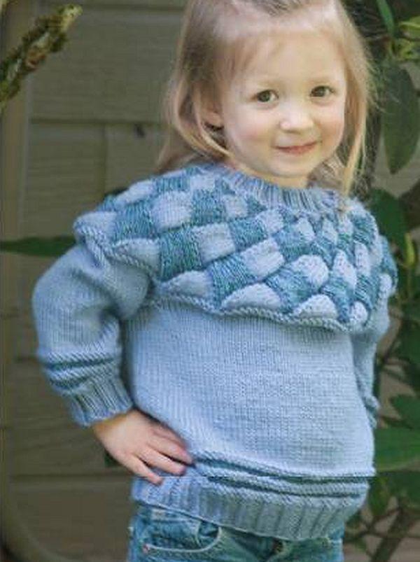 Cascade knitting patterns, Cascade Entrelac Child's ...