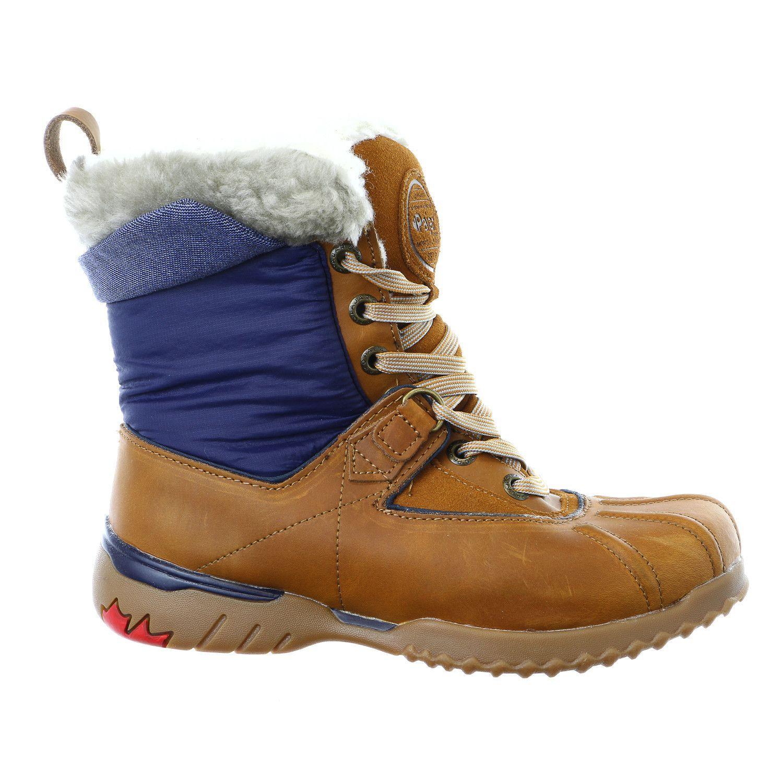 Pajar Krystal Winter Snow Boot Leather Shoe Womens   Mode