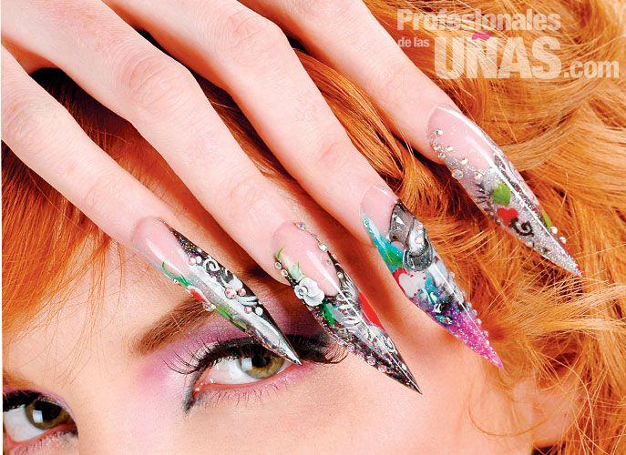 Diseño En Uñas Nails Un Estilo Urbano Trabajo De Nail