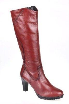 Kozaki Bordowe Tamaris R 37 25567 27 6605905463 Oficjalne Archiwum Allegro Boots Ankle Boot Heeled Boots