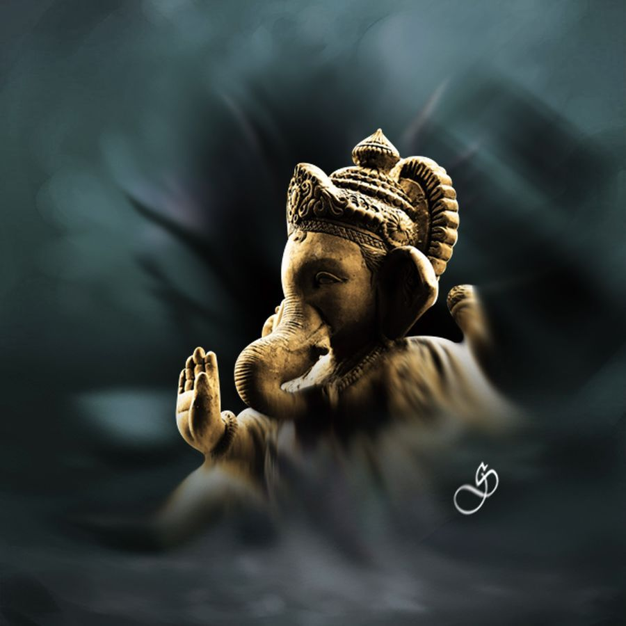 Buy Lord Ganesha Painting Online 100 Original Museum Quality Artwork By Dinesh Ghodke Available At Ga Lord Ganesha Paintings Ganesha Painting Ganesh Images