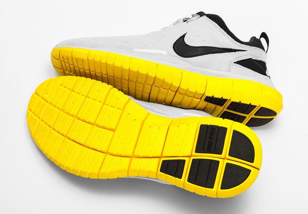 6281f7fb54b5 Nike Free Superior OG  Grey yellow