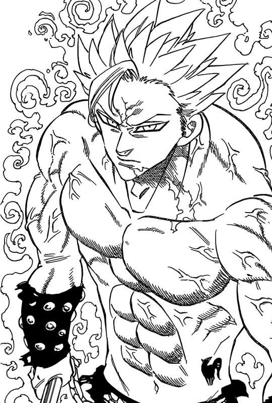 Ban Nanatsu No Taizai Manga 144 Nanatsu No Taizai Manga Seven