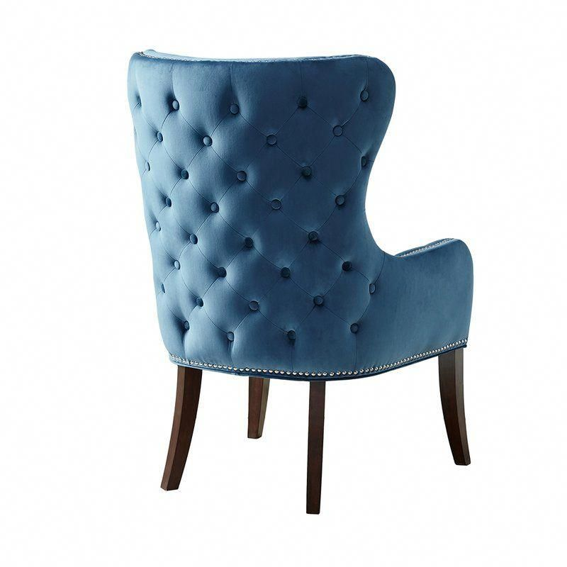Best Vangorder Wingback Chair In 2020 Blue Accent Chairs 400 x 300