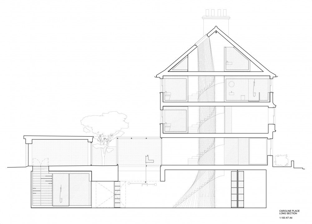 Pin By Architecture Cov On Ortho Drawings In 2020 Architect Architect Design Residential House