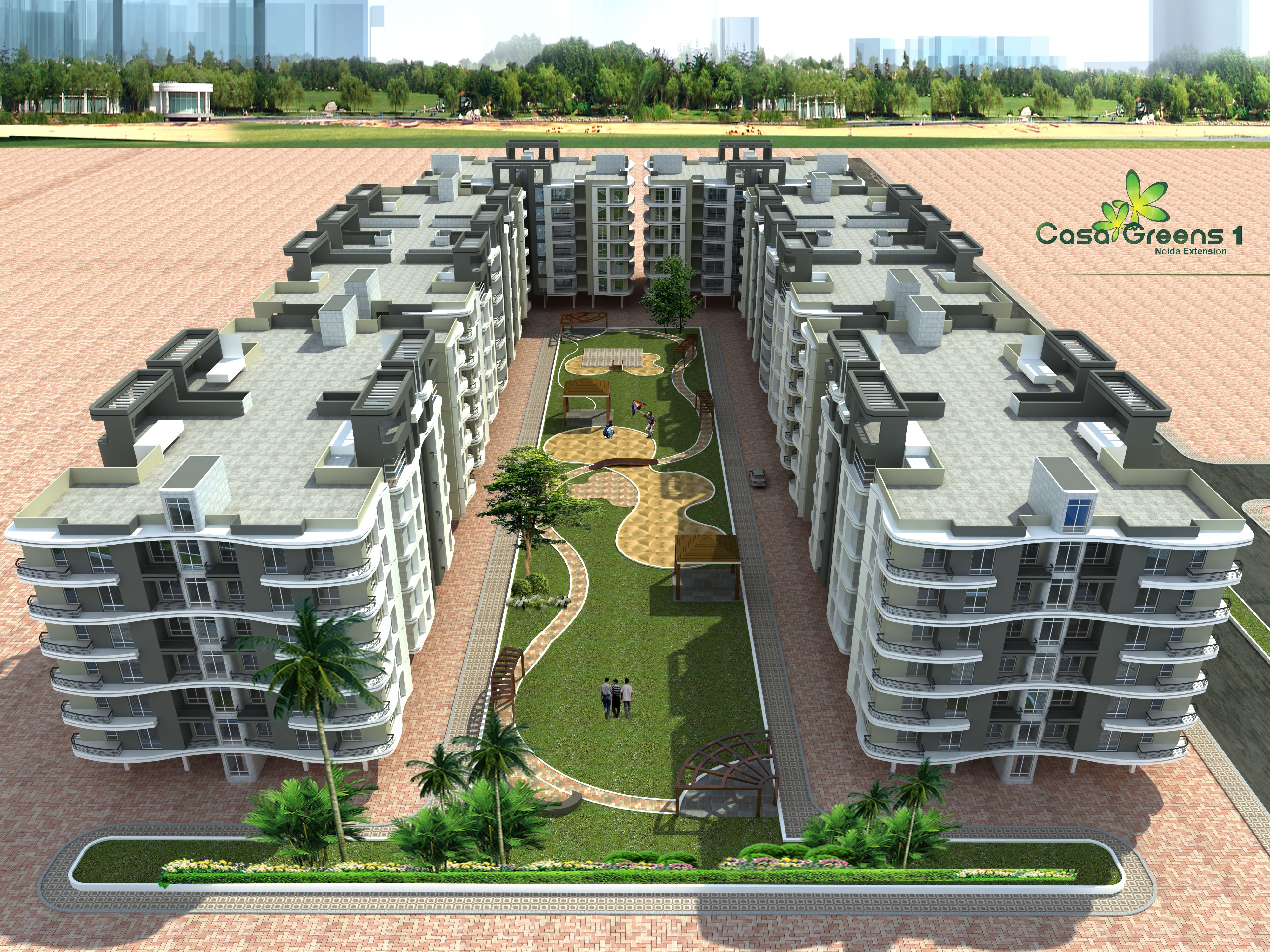 Casa Greens 1 The Project Is Fully Loaded With All Luxury And Comfort It Provides You Peaceful And Healthy L Luxury Flats Noida Free Classified Ads