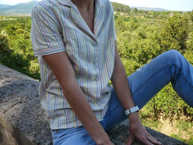 Angèle Couture- Une plume sinon rien: La chemise Juliette sinon rien!