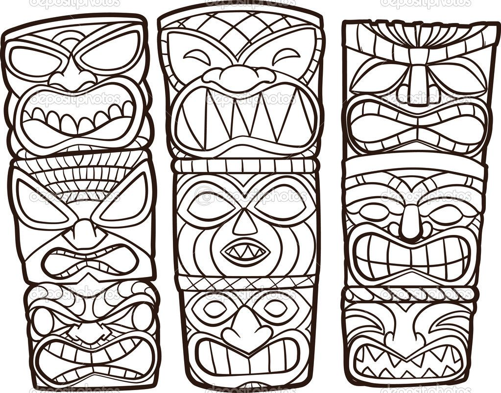 totem coloring pages cart cart lightbox lightbox share facebook twitter google pinterest - Tiki Coloring Pages