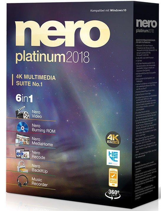 nero 2018 crack download