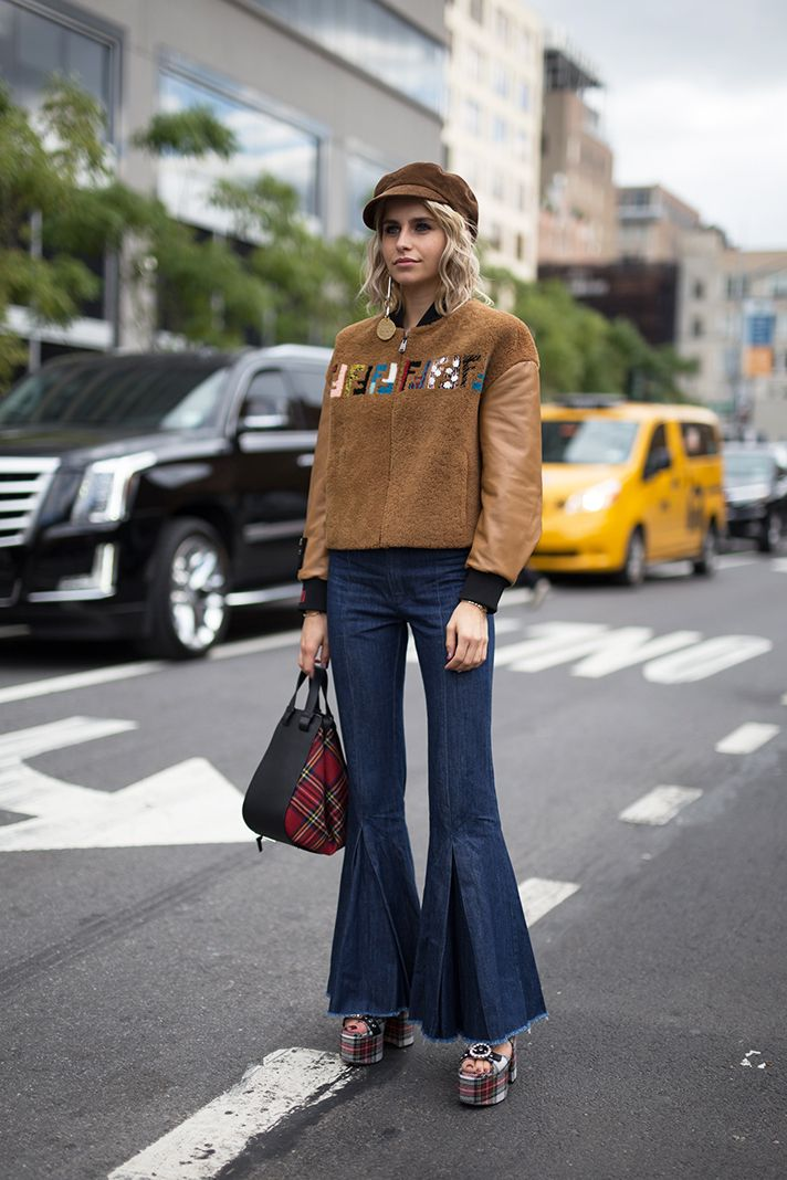 7f083da4603 The Best Street Style From New York Fashion Week Spring 2018 ...
