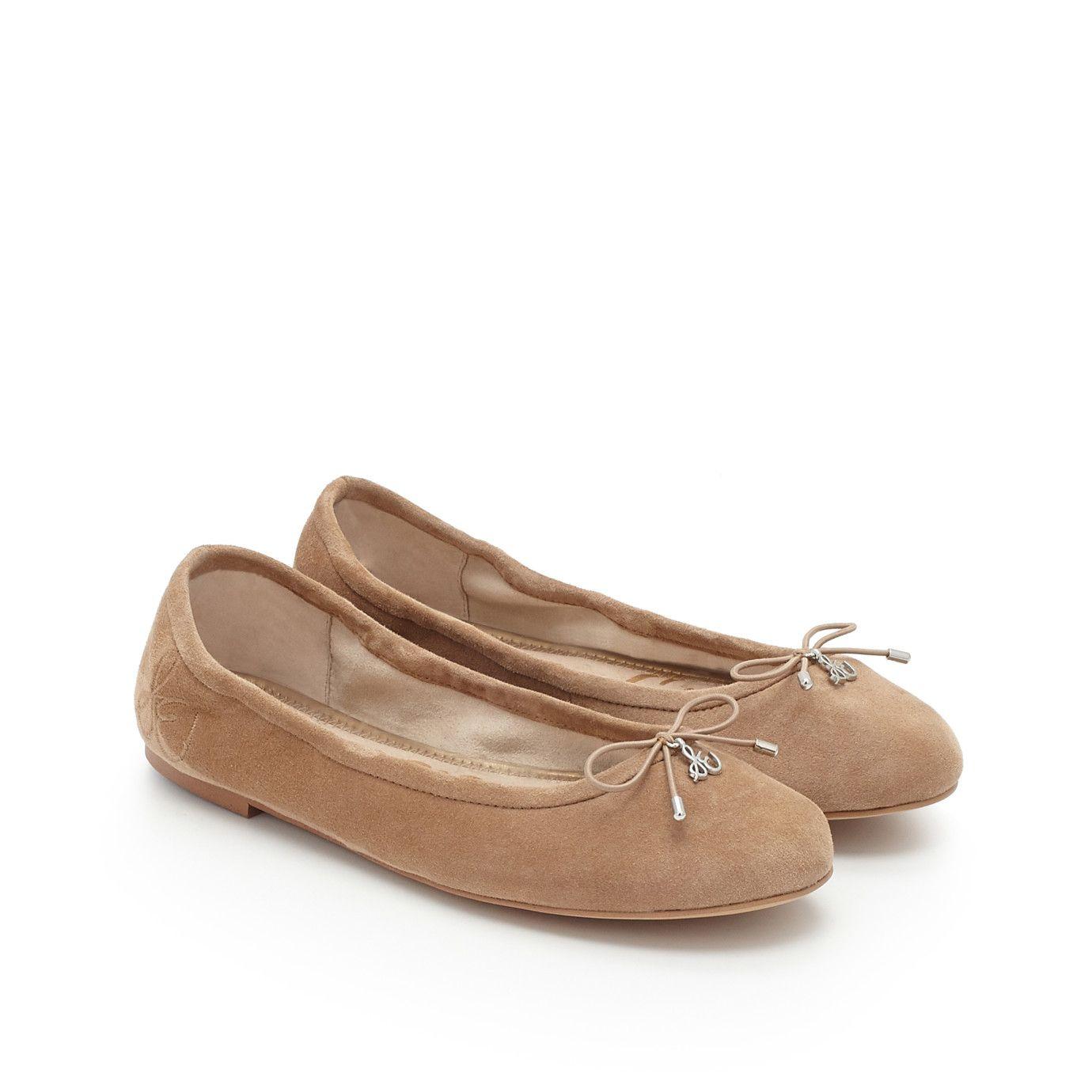 6726e7de266e Felicia Ballet Flat by Sam Edelman - Oatmeal Suede -  48 on sale