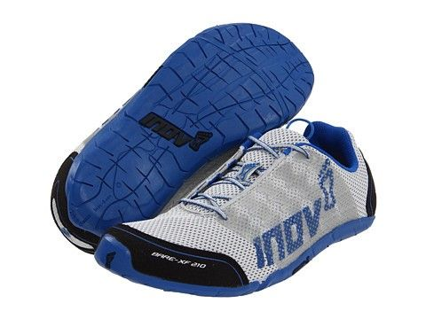 Inov 8 Bare Xf 210 Silver Blue Designed For Every Element Of Fitness Incorporates Zero Differential And Zero Crossfit Shoes Minimalist Shoes Workout Shoes