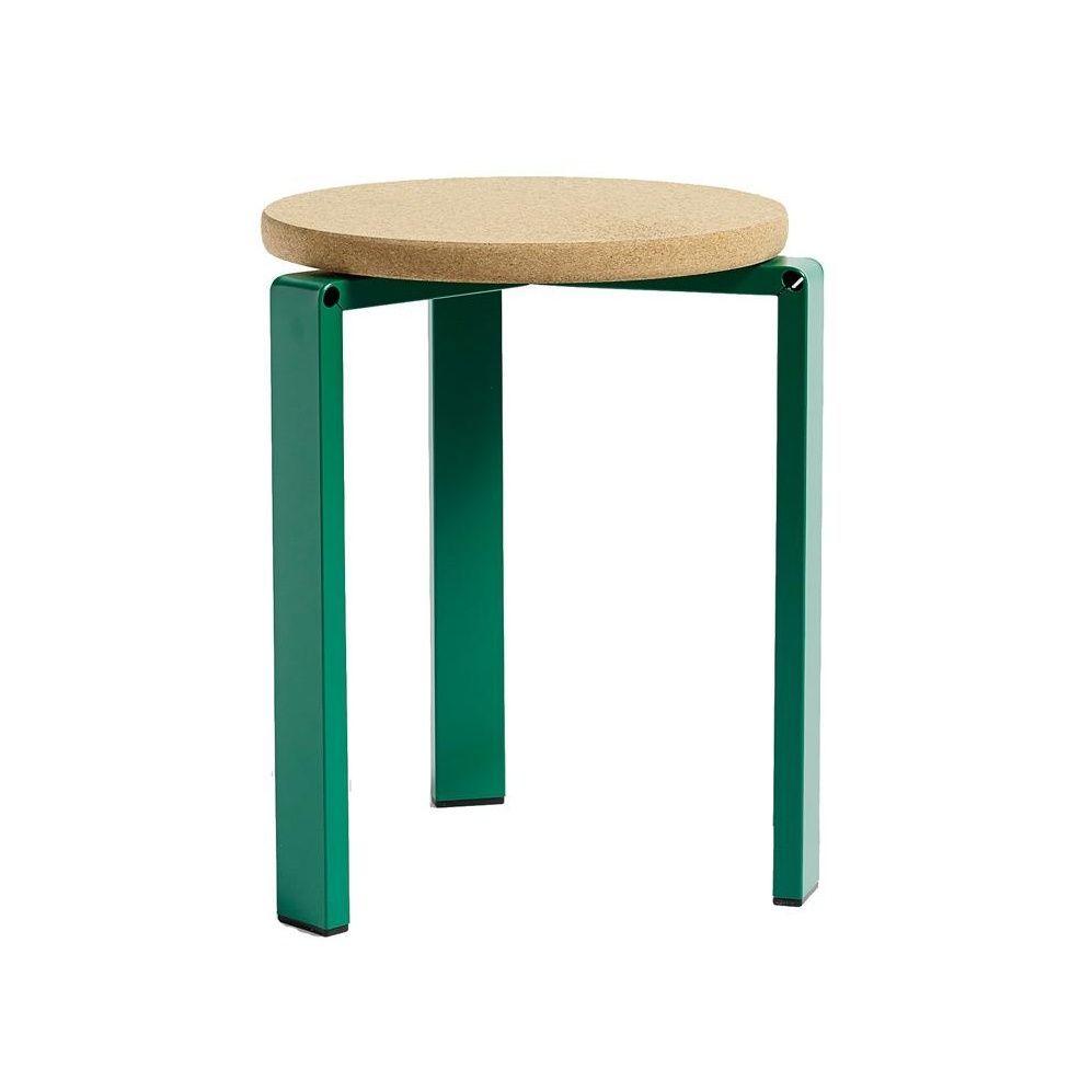 Hay Hocker hay stanley stool hocker grün kork gestell stahl ø 34 5cm nur