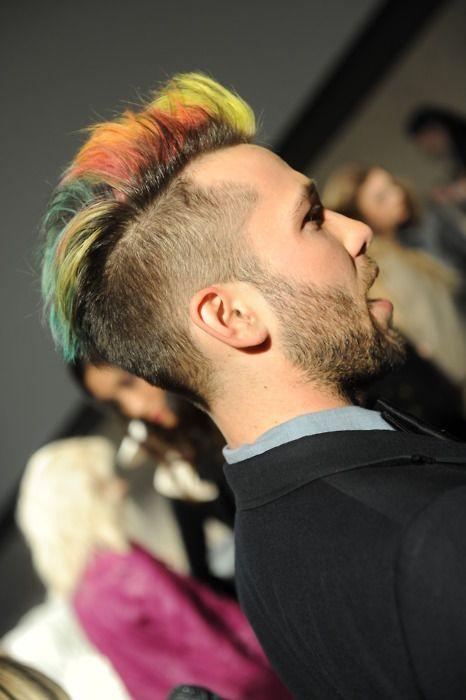 rainbow hair color men - Google Search | Wild Streaks | Pinterest ...