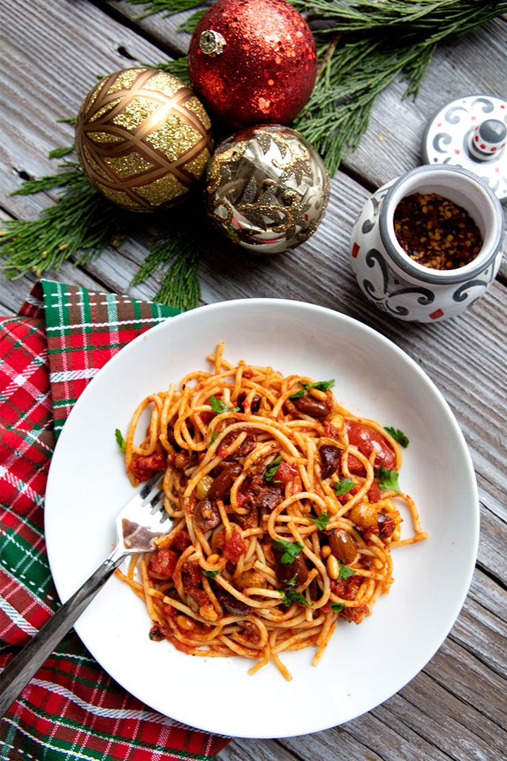 Christmas Eve Sicilian Anchovy Pasta Recipe Anchovy Pasta Italian Food Forever Italian Recipes