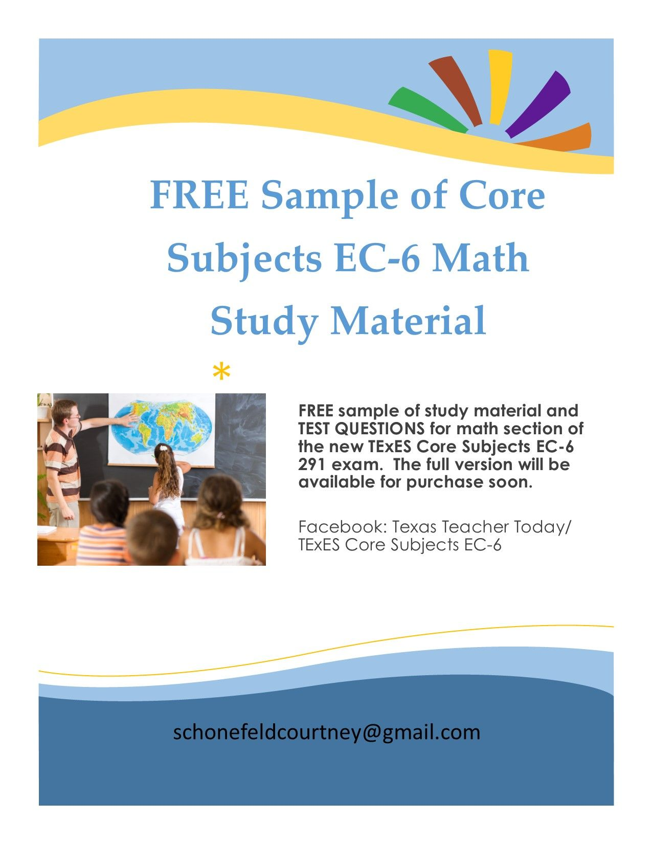 Passing the texes certification exam - Free Sample Of Math Study Material And Test Questions For The Math Portion Of The Texes