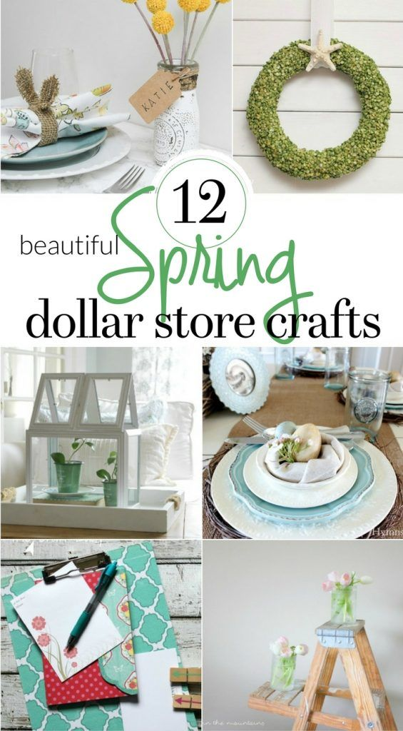 Photo of 12 Beautiful Spring Dollar Store Crafts – The Crazy Craft Lady