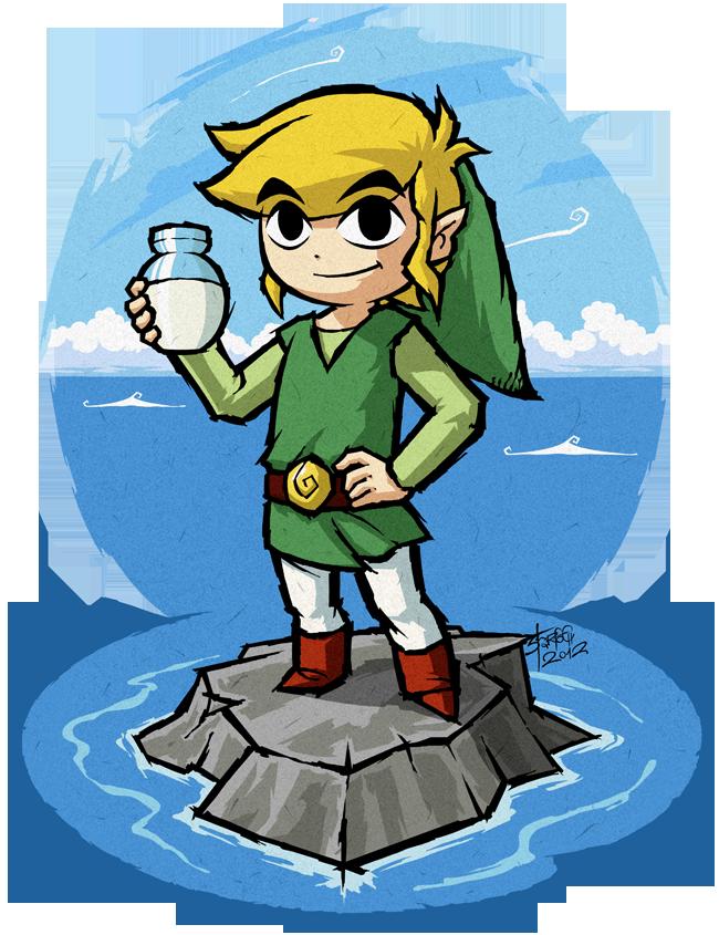 The Legend Of Zelda The Wind Waker Toon Link The Wind Waker The Bottle Of Milk By Purrdemonium On Deviantart The Wind Waker Legend Of Zelda Wind Waker