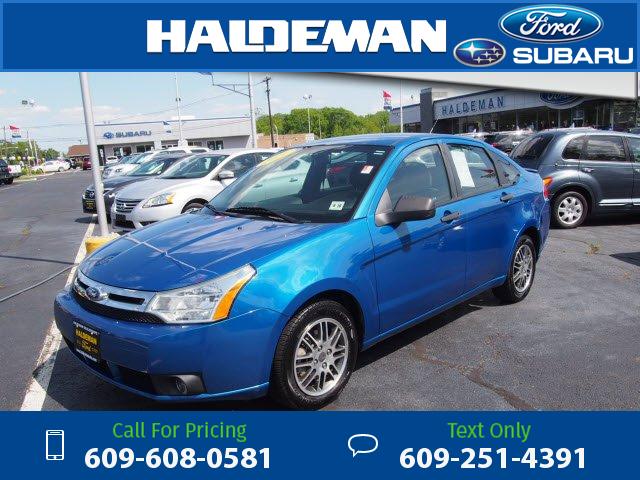 2011 Ford Focus Se Blue 9 390 56256 Miles 609 608 0581
