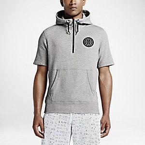 brand new d49b4 4d148 NikeLab x Pigalle Pivot Short Sleeve Half-Zip Hoodie