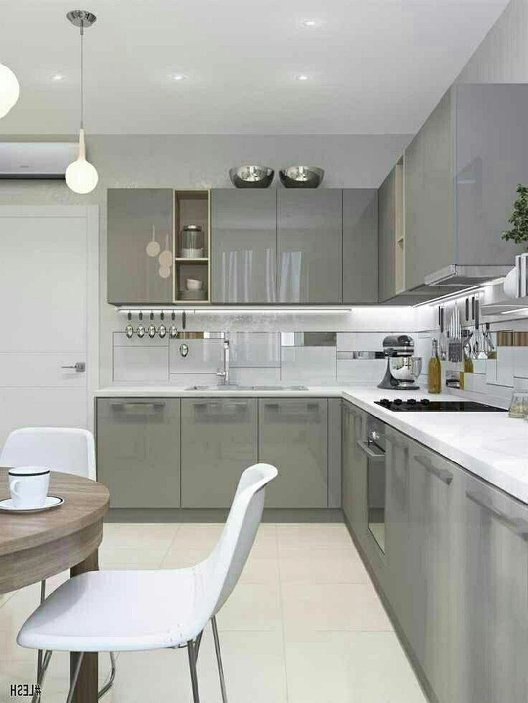 25 Brilliant Small Apartment Kitchen Design Ideas For More Comfort With Images Small Kitchen Design Apartment Small Apartment Kitchen Kitchen Room Design