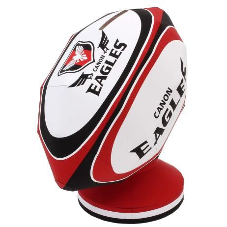rugby ball money box canon eagles home and living paper craft