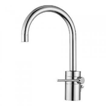Nobili Plus Einhand-Waschtischmischer mit Ablaufgarnitur Bad - wand wasserhahn küche