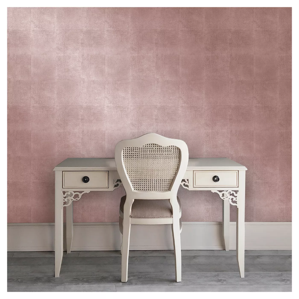 Metallic Leaf Peel Stick Wallpaper Pink Project 62 In 2020 Peel And Stick Wallpaper Wallpaper Project Removable Wallpaper