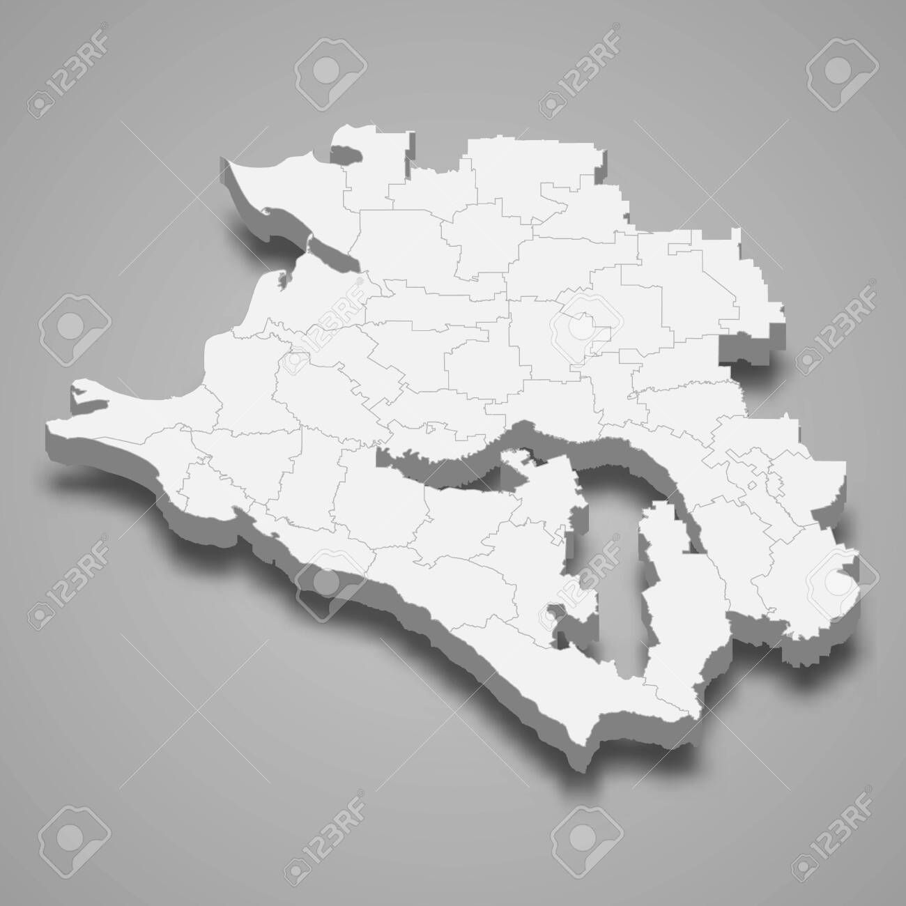 3d Map Of Krasnodar Krai Is A Region Of Russia Sponsored Sponsored Krasnodar Map Krai Russia Region In 2020 Krasnodar Region