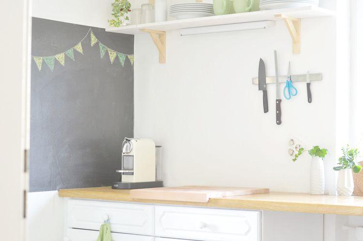 Alte Küche weiß streichen - alte küche streichen