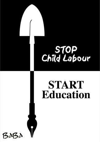 lets stop child labour World day against child labour every year on june 12 the world day against child labor is observed to raise awareness of the plight of child laborers world-wide.
