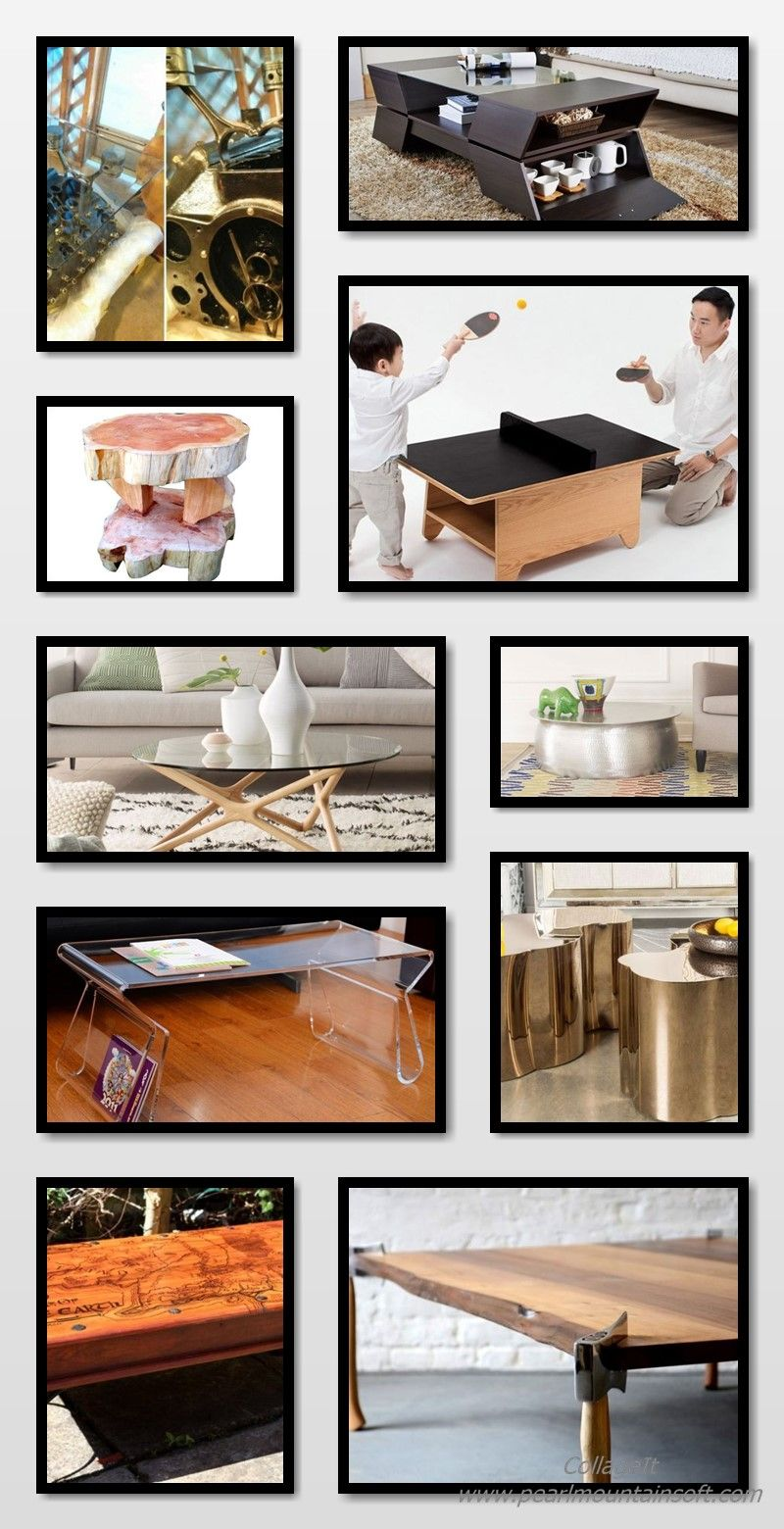 100 Unique Coffee Tables Styling Ideas For Your Living Room Wood Unique Coffee Table Coffee Table Styling Diy Coffee Table