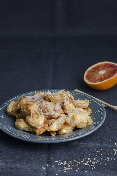 Orange chicken – Pollo all'arancia – Cina