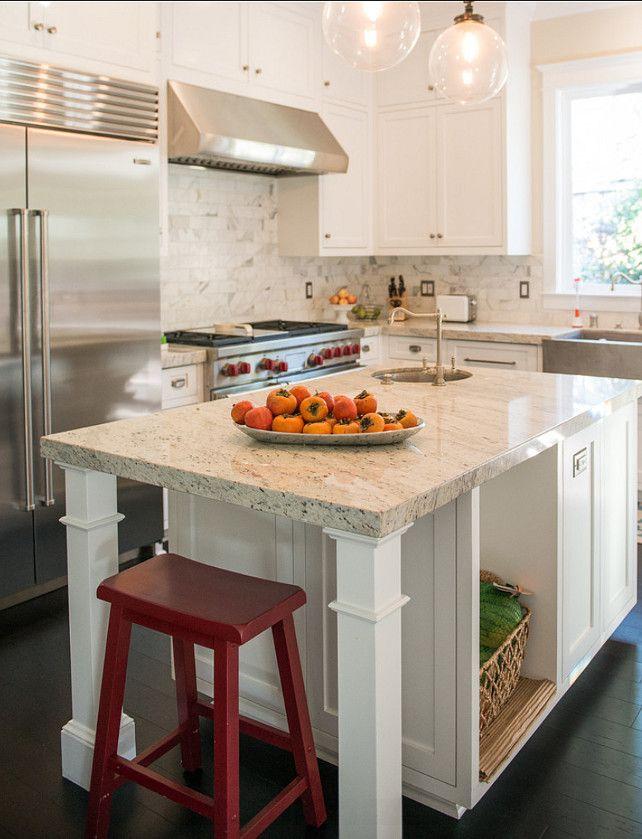 Kitchen The Granite Countertop Is Dal Tile S White River